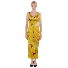 Fusilli By Sandi Fitted Maxi Dress