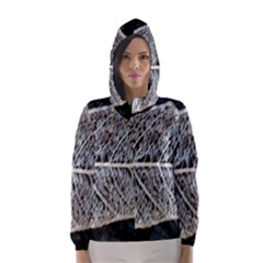 Modern Leaf Hooded Wind Breaker (Women)