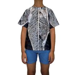 Modern Leaf 2 Kid s Short Sleeve Swimwear