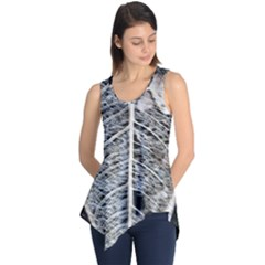 Modern Leaf 2 Sleeveless Tunic