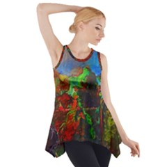 Chicago Park Painting Side Drop Tank Tunic