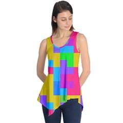 Colorful tetris shapes Sleeveless Tunic