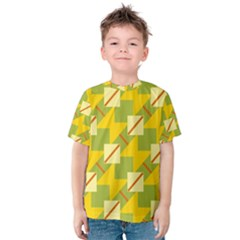Squares and stripes Kid s Cotton Tee