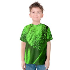 Green And Powerful Kid s Cotton Tee