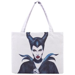 Maleficent Drawing Tiny Tote Bags