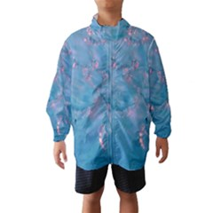 Abstract Waters with hints of Pink Wind Breaker (Kids)