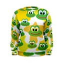 Cute Frog Family Whimsical Women s Sweatshirt View1