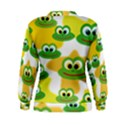 Cute Frog Family Whimsical Women s Sweatshirt View2