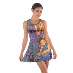 Zodiac Signs Scorpio Drawing Racerback Dresses