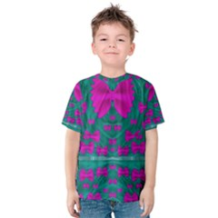 World Wide Flying Butterflies Kid s Cotton Tee