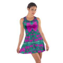 World Wide Flying Butterflies Cotton Racerback Dress