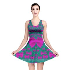World Wide Flying Butterflies Reversible Skater Dress