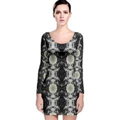 Ghana lit0511029016 Long Sleeve Velvet Bodycon Dress