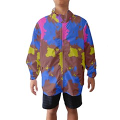 Retro Texturewind Breaker (kids)