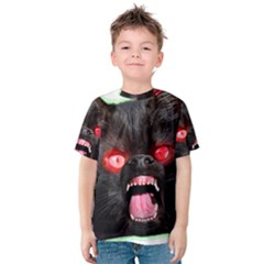 5000x5000 Menacuddle Monster No Text Kid s Cotton Tee