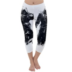 Assassins Creed Black Flag Capri Winter Leggings