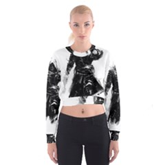 Assassins Creed Black Flag Women s Cropped Sweatshirt