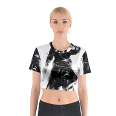 Assassins Creed Black Flag Cotton Crop Top