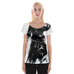 Assassins Creed Black Flag Tshirt Women s Cap Sleeve Top