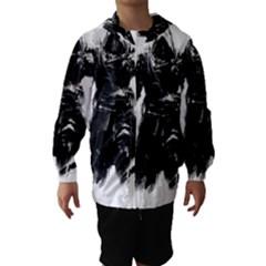 Assassins Creed Black Flag Tshirt Hooded Wind Breaker (kids)