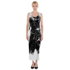 Assassins Creed Black Flag Tshirt Fitted Maxi Dress