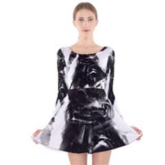 Assassins Creed Black Flag Tshirt Long Sleeve Velvet Skater Dress
