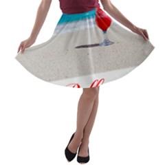 5000x5000 Belfast Shortened A-line Skater Skirt
