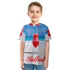 5k2 Belfast Short6 Kid s Sport Mesh Tee