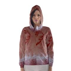 Pork Skin Hooded Wind Breaker (Women)