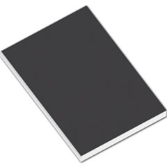 Carbon Fiber Graphite Grey And Black Woven Steel Pattern Large Memo Pads