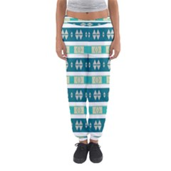 Rhombus and stripes Women s Jogger Sweatpants