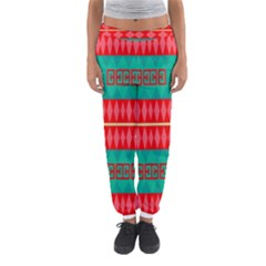 Rhombus Stripes And Other Shapes Women s Jogger Sweatpants