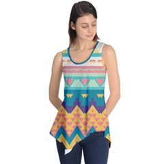 Pastel tribal design Sleeveless Tunic