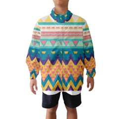 Pastel tribal design Wind Breaker (Kids)