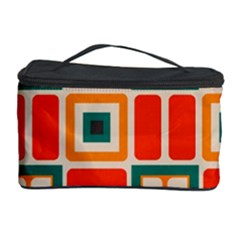 Squares And Rectangles In Retro Colors Cosmetic Storage Case