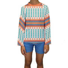 Etnic Design  Kid s Long Sleeve Swimwear