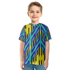 Tribal angles Kid s Sport Mesh Tee