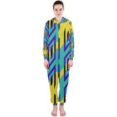 Tribal Angles Hooded Jumpsuit (ladies)