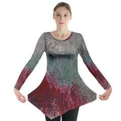 Metallic Abstract 1 Long Sleeve Tunic