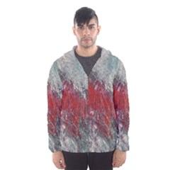 Metallic Abstract 2 Hooded Wind Breaker (Men)