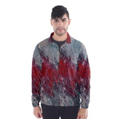 Metallic Abstract 2 Wind Breaker (Men)