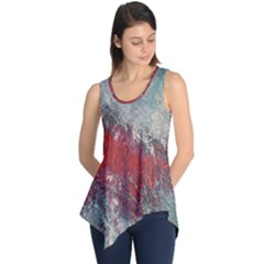 Metallic Abstract 2 Sleeveless Tunic