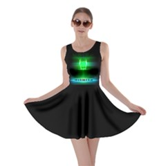 STOP IN THE NAME OF THE LAW Skater Dress