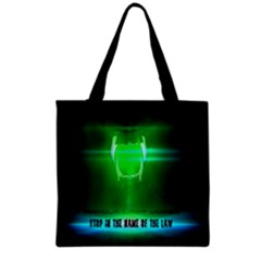 Stop In The Name Of The Law Grocery Tote Bags
