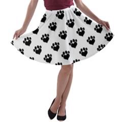 Puppy Love A-line Skater Skirt