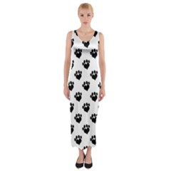 Puppy Love Fitted Maxi Dress