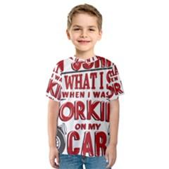 Wrenching Anger Kid s Sport Mesh Tee