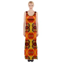 Maldives lit010413001015 Maxi Thigh Split Dress
