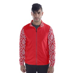 Salmon Damask Wind Breaker (men)
