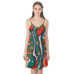 Retro Colors Chaos Camis Nightgown